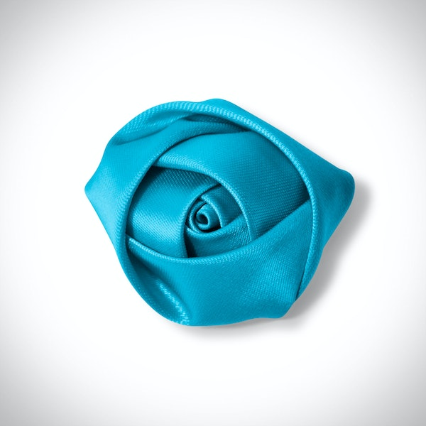 Pacific Blue Rose Lapel Pin