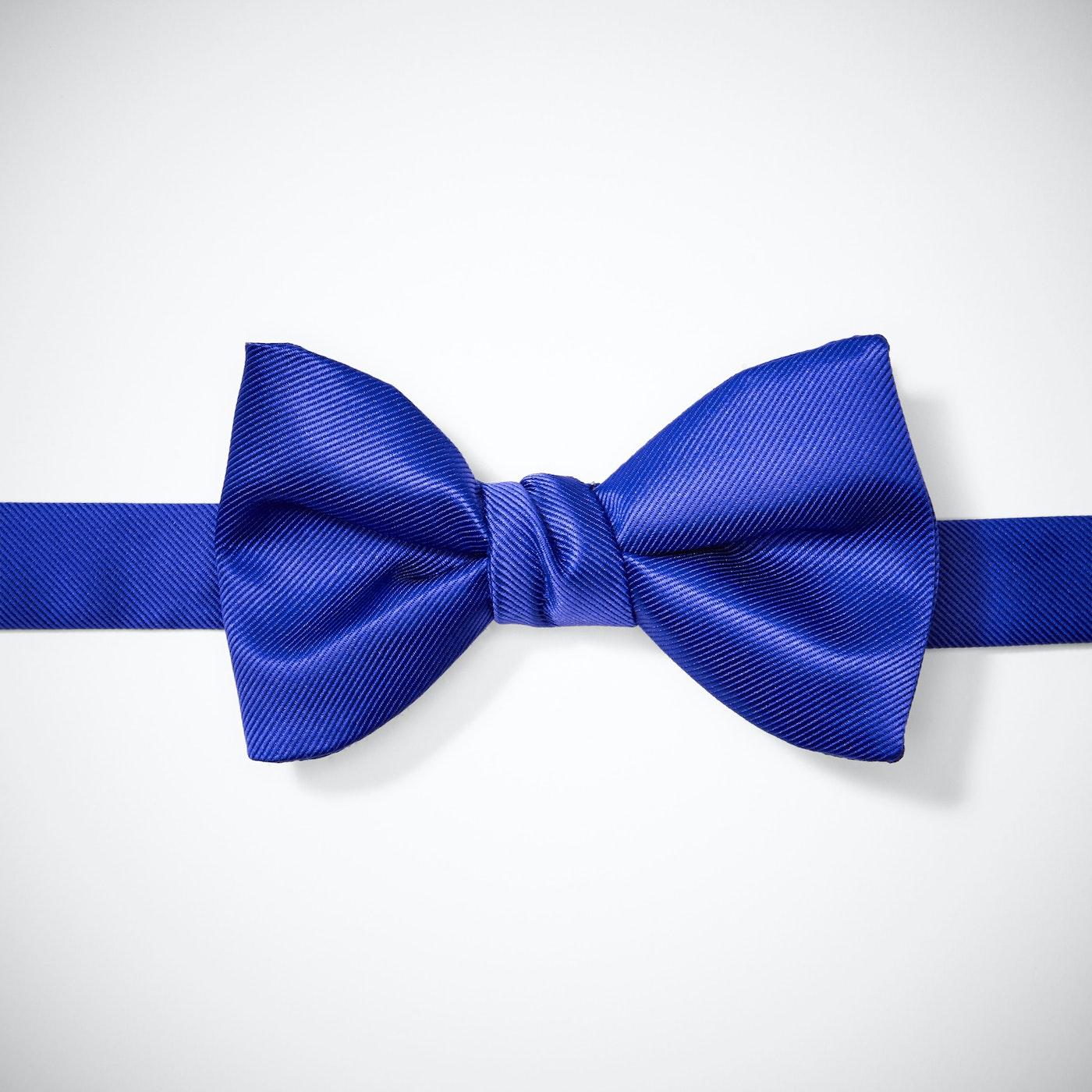 Royal Blue Pre-Tied Bow Tie