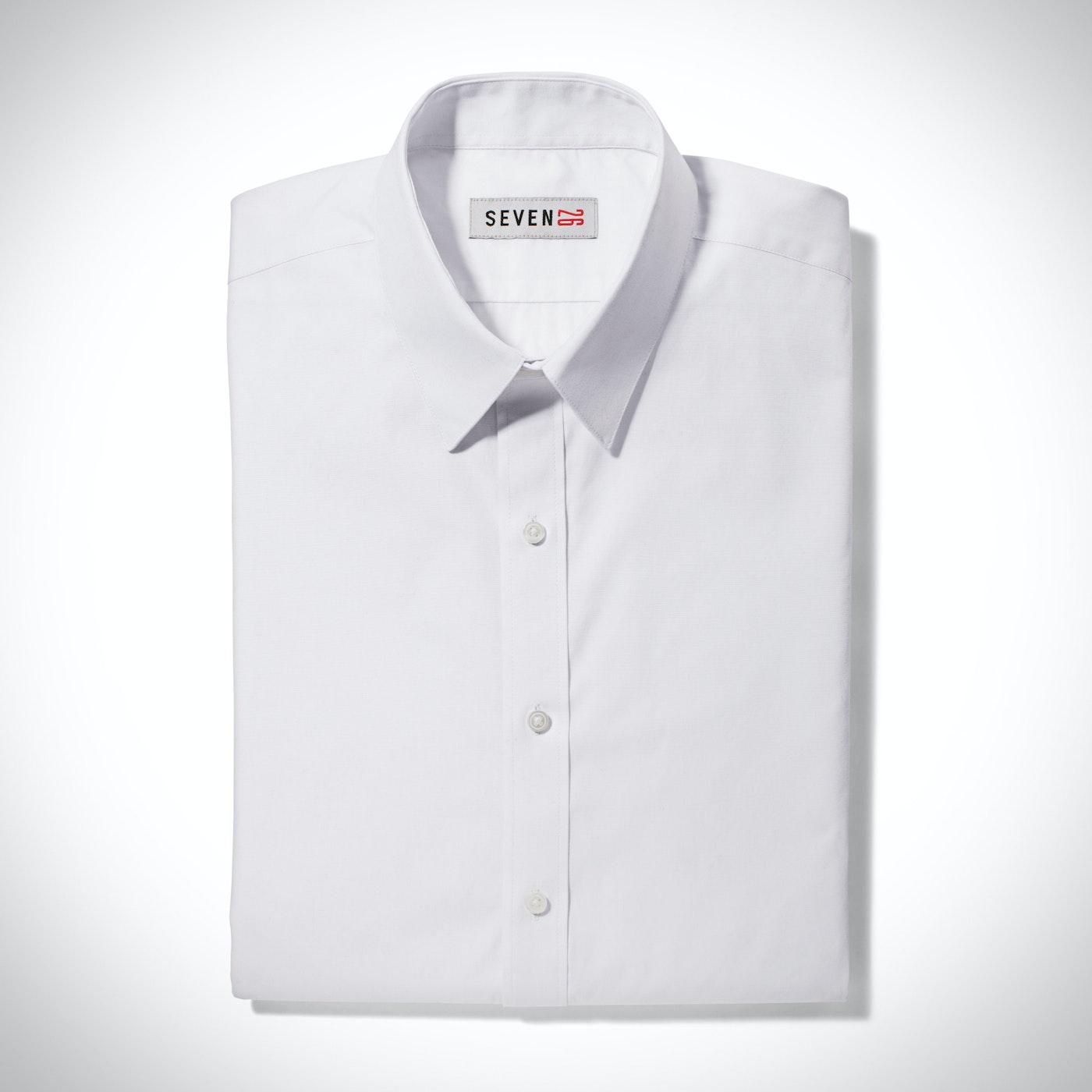 White Point Collar Shirt