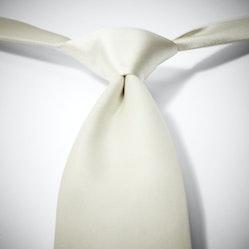 Ivory Pre-Tied Tie