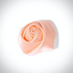 Peach Rose Lapel Pin