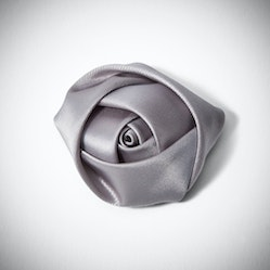 Platinum Rose Lapel Pin