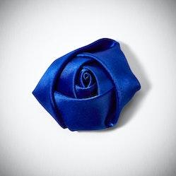 Royal Blue Rose Lapel Pin