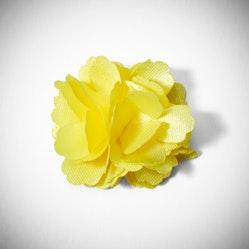 Canary Carnation Lapel Pin