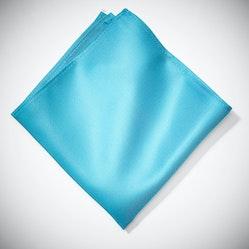 Aqua Pocket Square