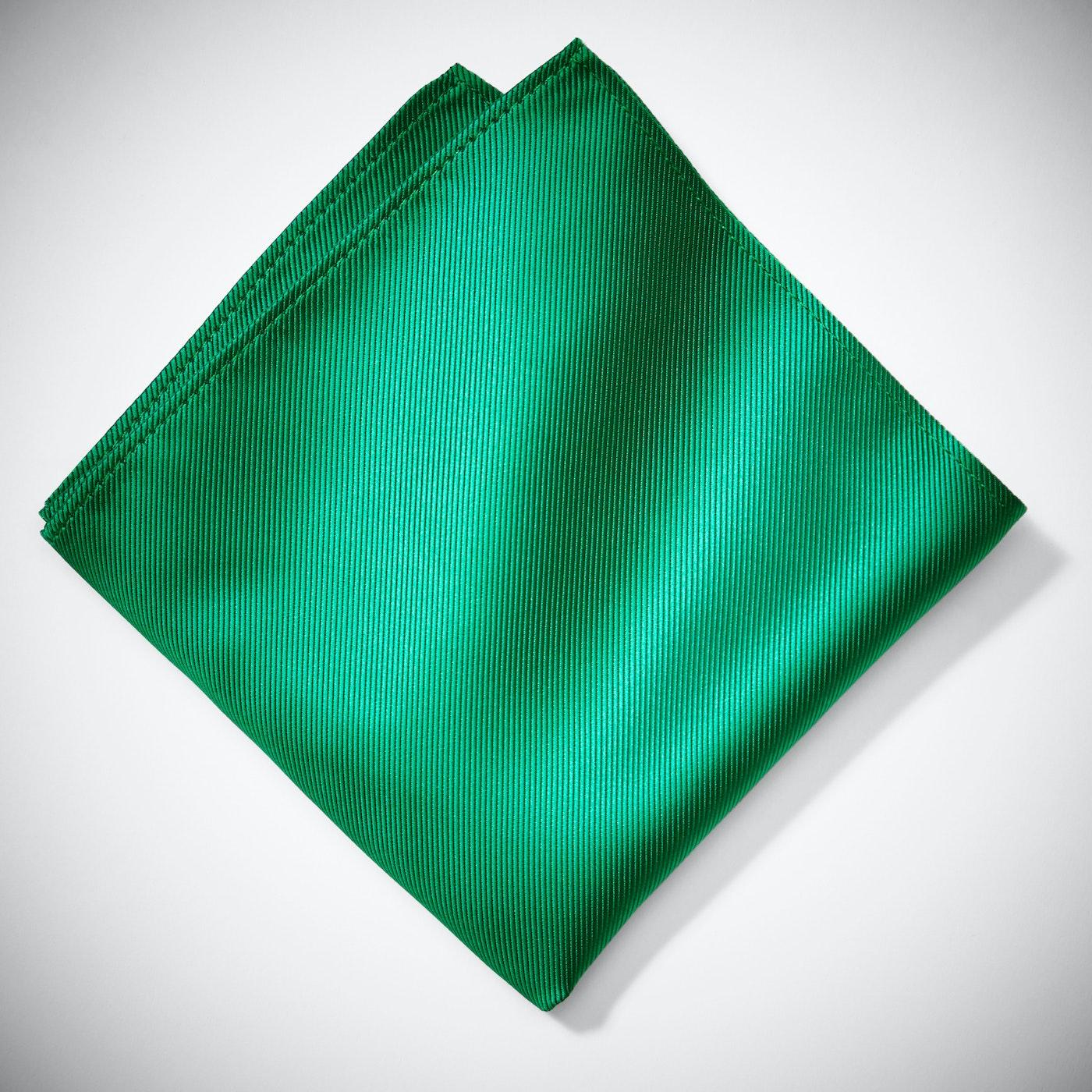 Emerald Pocket Square