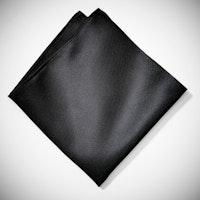 Black Pocket Square