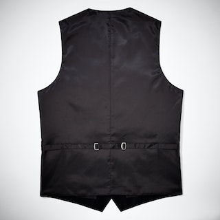 Black Tailored Suit Vest