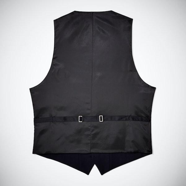 Midnight Blue Tailored Tux Vest