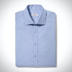 Glacier Blue Spread Collar Shirt