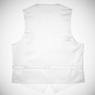 White Paisley Vest