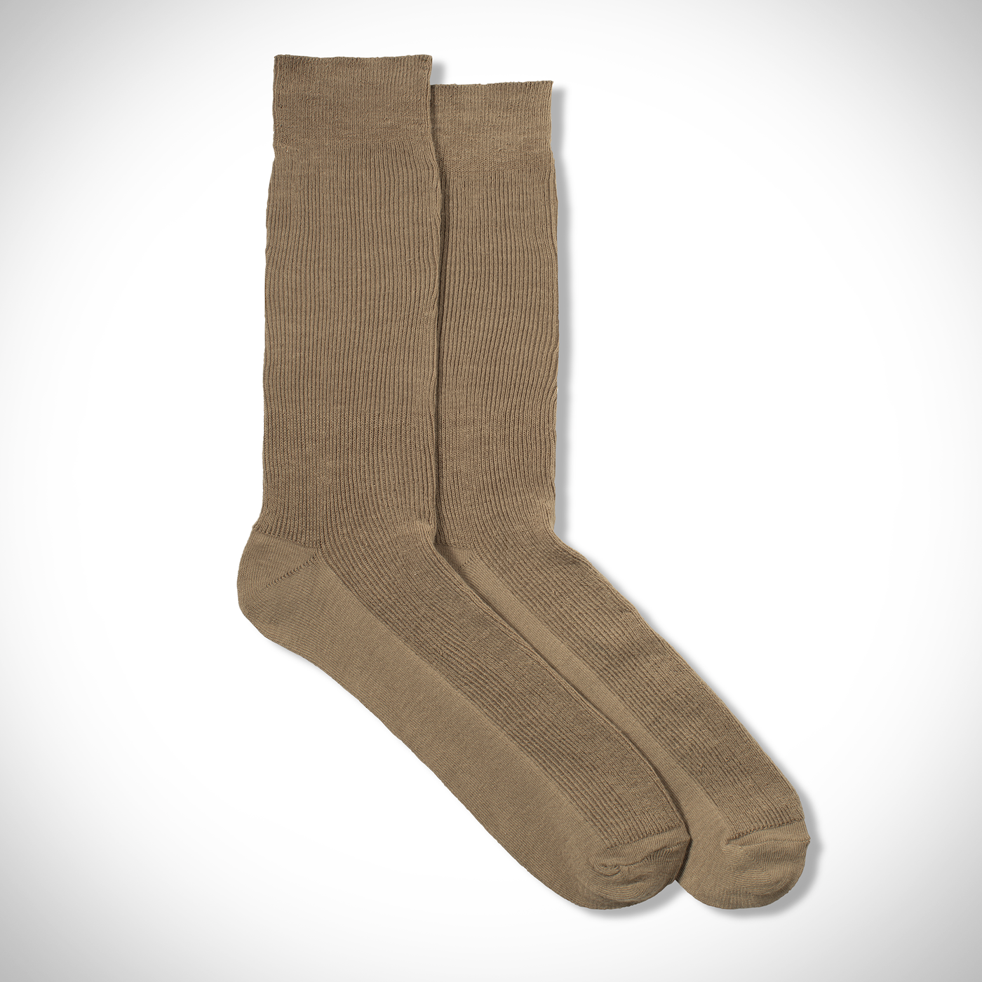 Tan Formal Sock