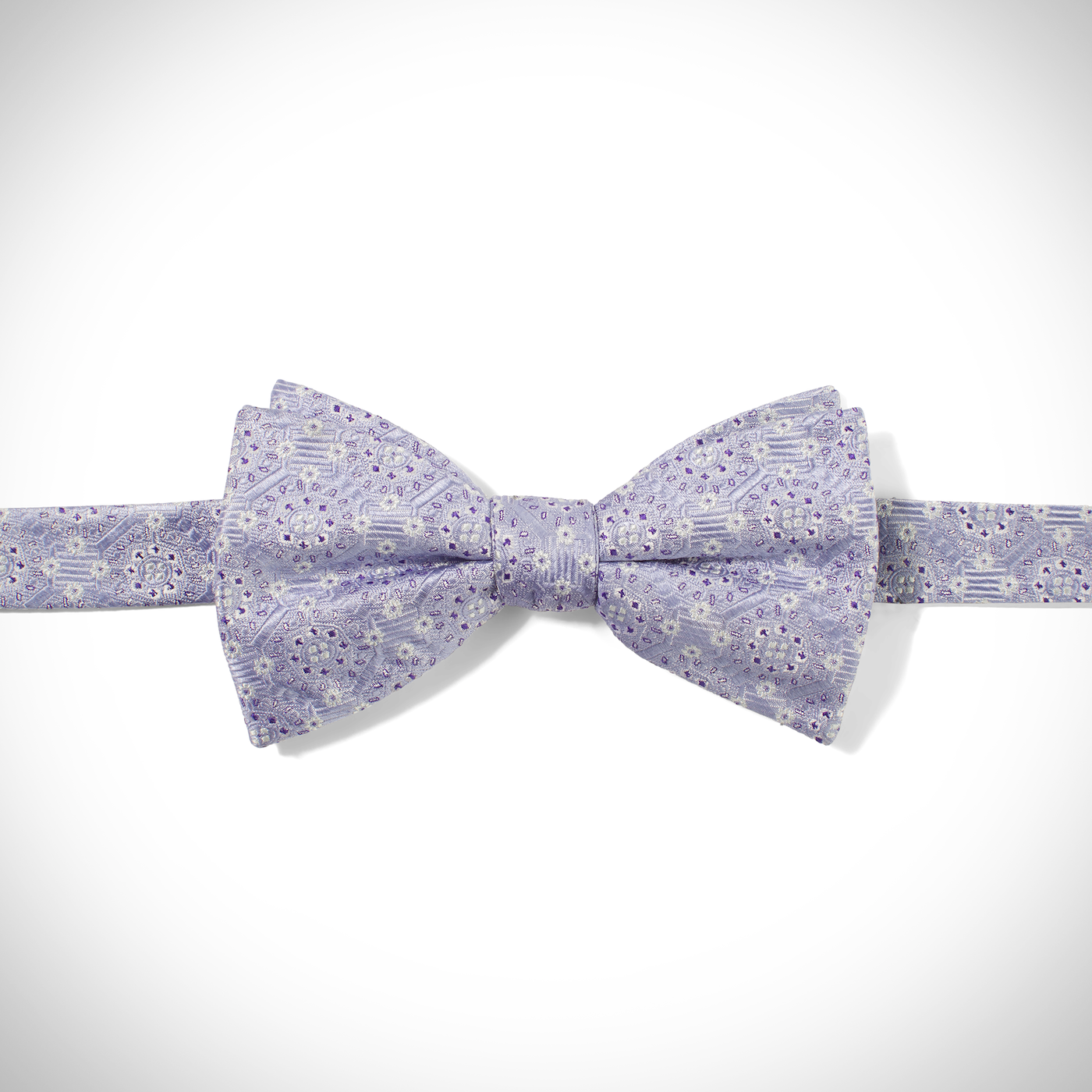 Lilac Connection Pre-Tied Bow Tie