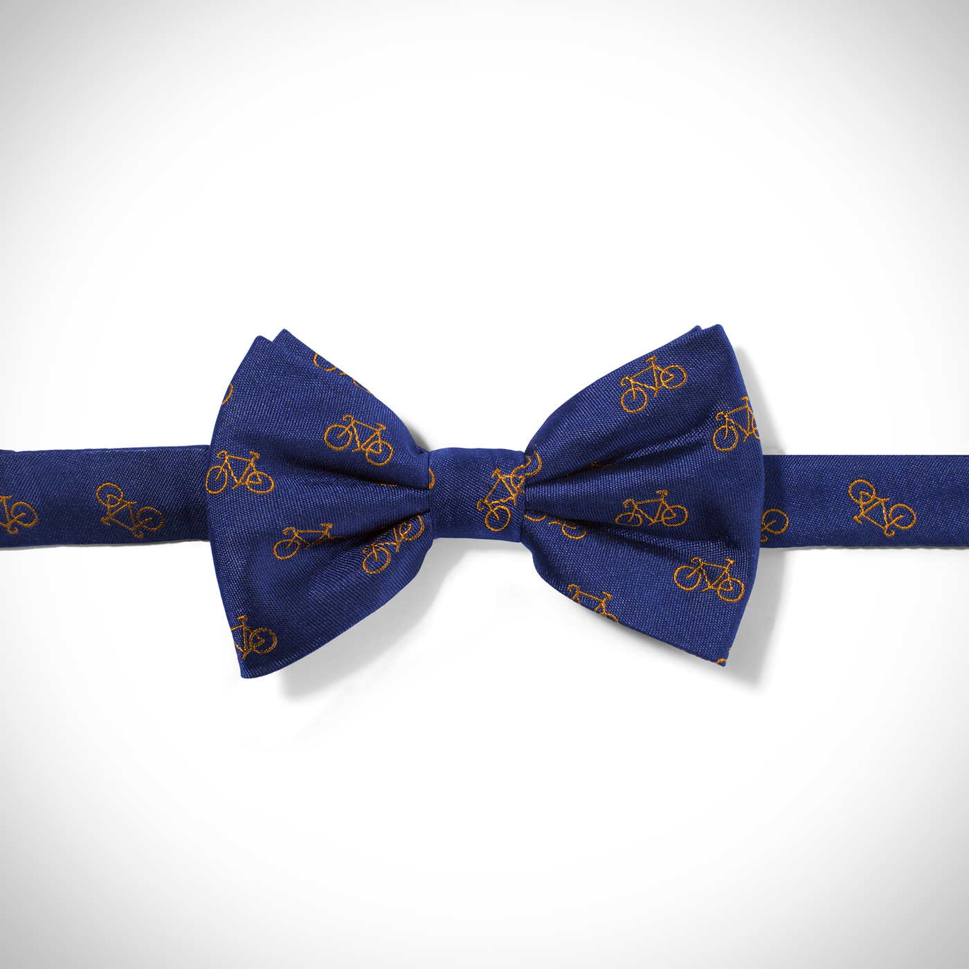 Blue Bicycle Pre-Tied Bow Tie