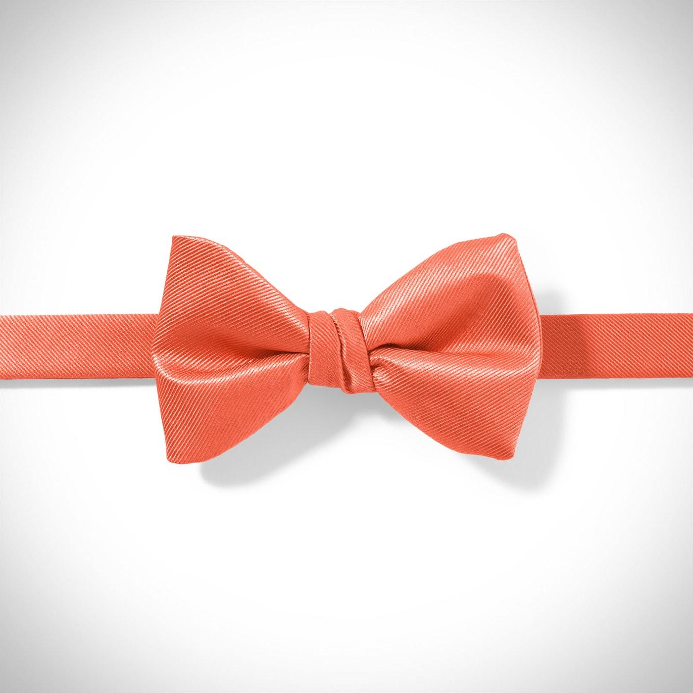 Dark Orange-Jalapeno Pre-Tied Bow Tie