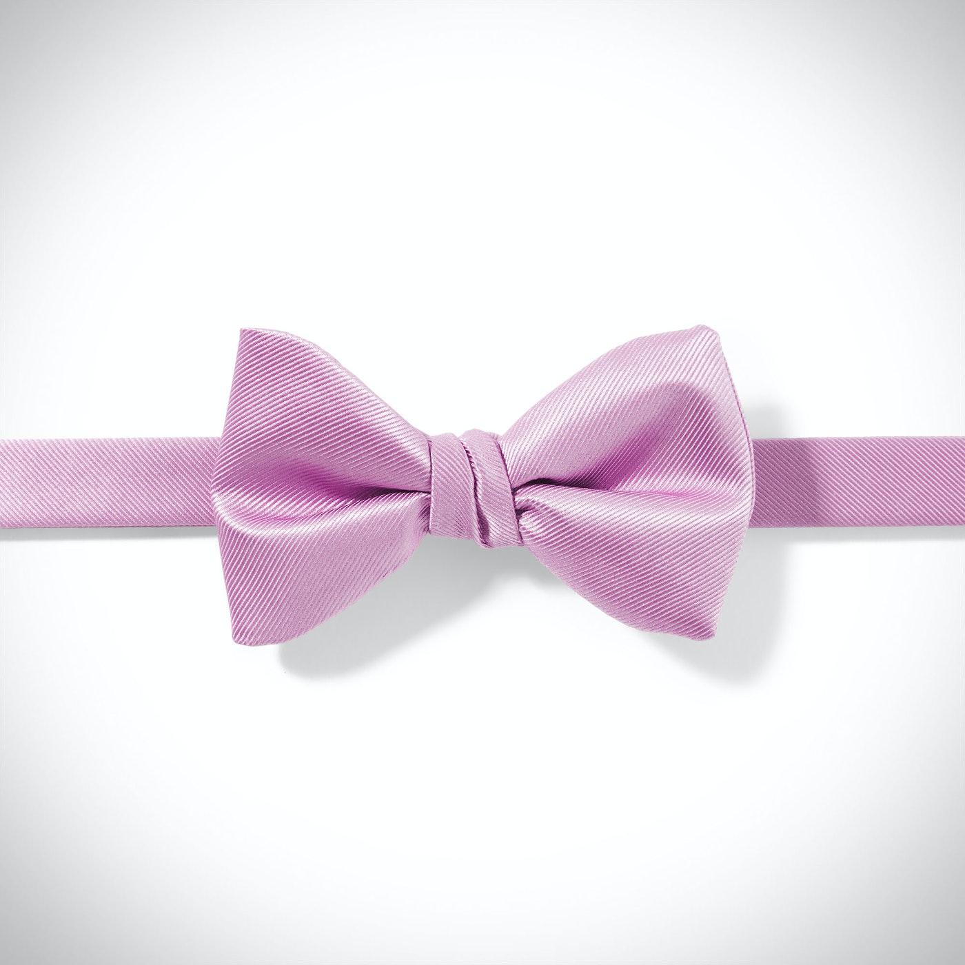 Lavender Pre-Tied Bow Tie