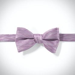 Lavender Zig Zag Pre-Tied Bow Tie