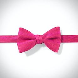 Deep Pink Zig Zag Pre-Tied Bow Tie