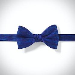 Royal Blue Zig Zag Pre-Tied Bow Tie