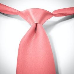 Coral Pre-Tied Tie