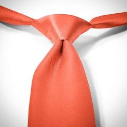 Dark Orange-Jalapeno Pre-Tied Tie