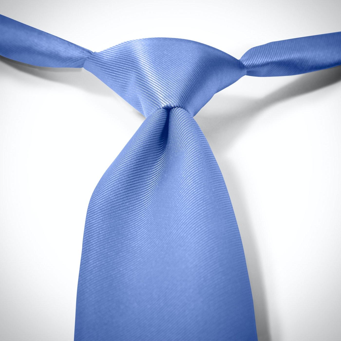 Cornflower Blue Pre-Tied Tie