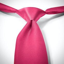 Deep Pink Pre-Tied Tie