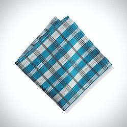 Pacific Plaid Pocket Square