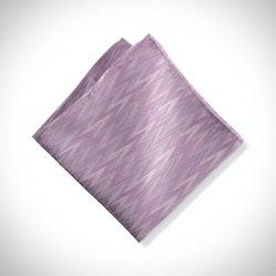 LavenderZig Zag Pocket Square