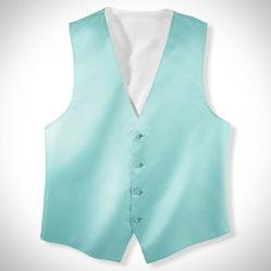 Tiffany Blue Vest