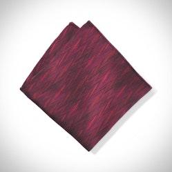 Wine Zig Zag Pocket Square