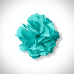 Tiffany Blue Carnation Lapel Pin