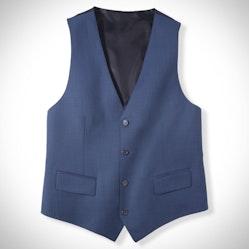 Tailored Mystic Blue Suit Vest
