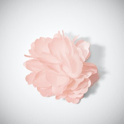 Blush Carnation Lapel Pin