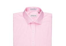 Pink Tickweave Shirt