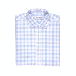 Windowpane Plaid Shirt