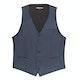 Slate Blue Suit Vest