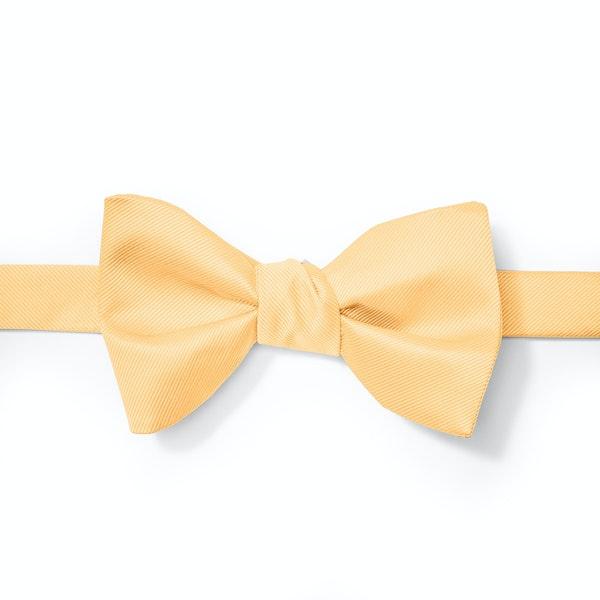 Gold Pre-tied Bow Tie