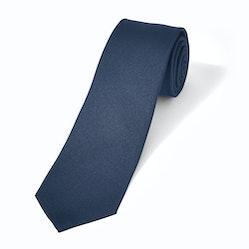 Navy Textured Microsquare Tie