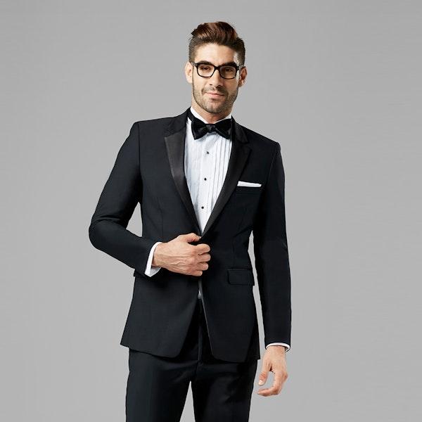 Black Notch Lapel Tuxedo