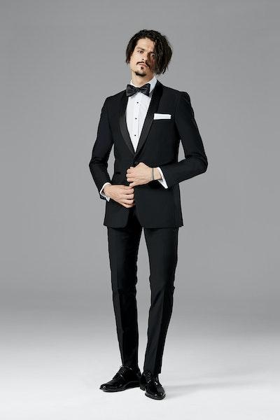 Black Shawl Lapel Tuxedo