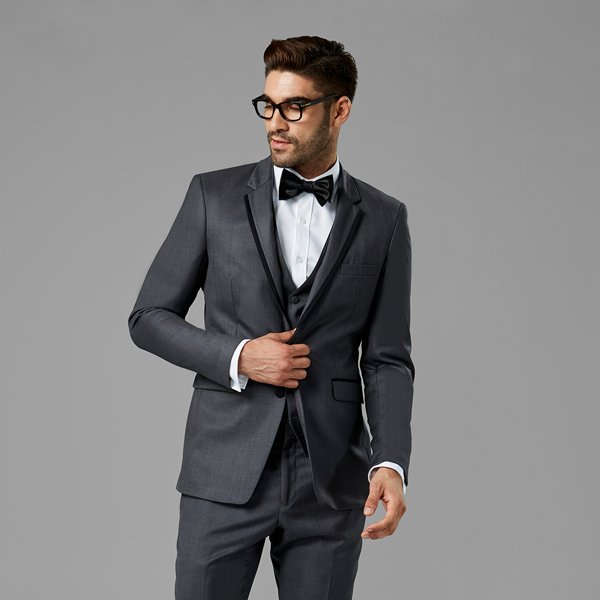 fashion style noveldesign pretty cheap Go Gray For Your Wedding With Stylish Suits And Tuxedos From ...