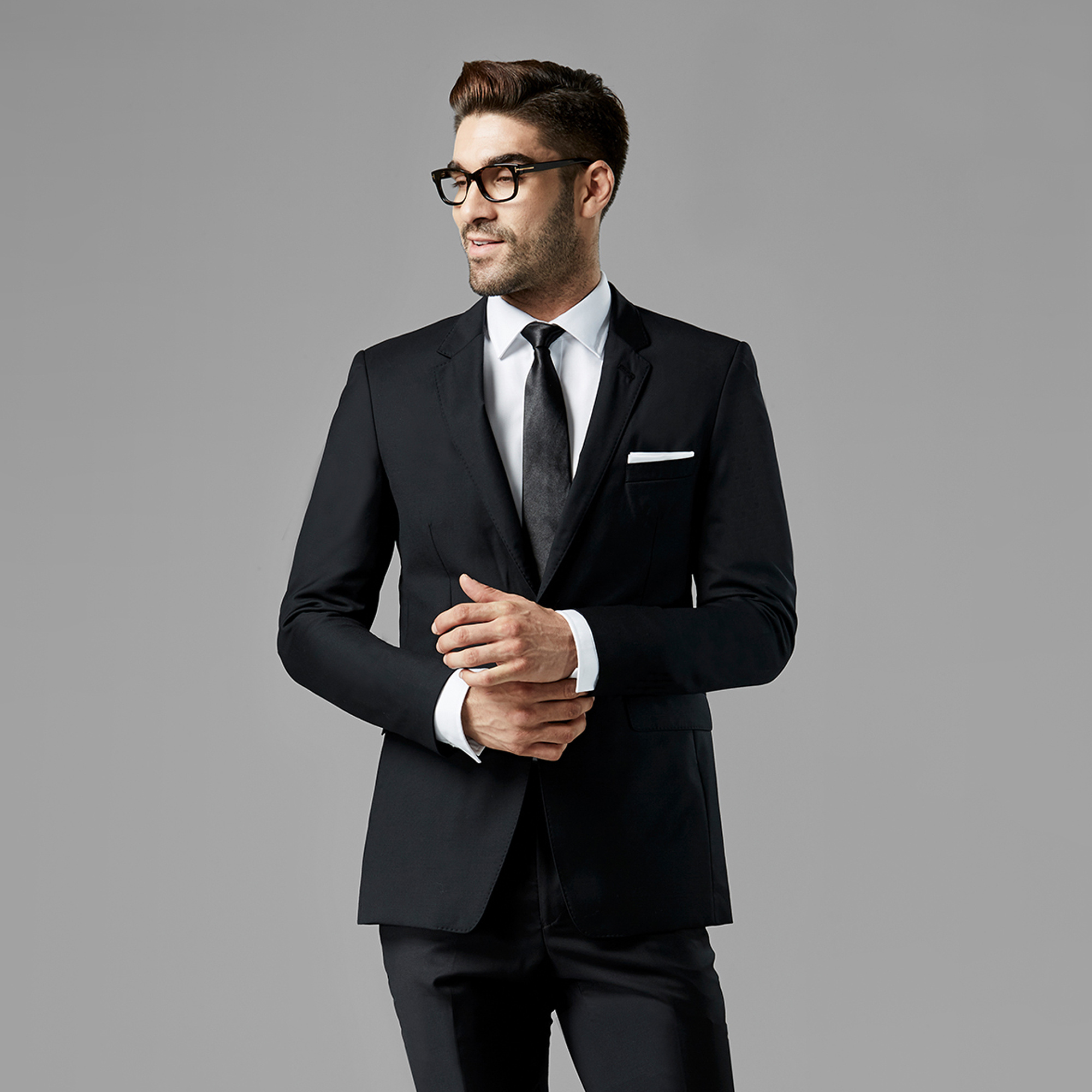 Men S Black Wedding Suits Generation Tux Suit Rental