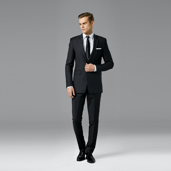 Charcoal Wedding Suit | Charcoal Grey Suit Rental