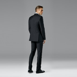 Charcoal Notch Lapel Suit