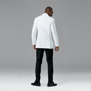 White Shawl Lapel Tuxedo