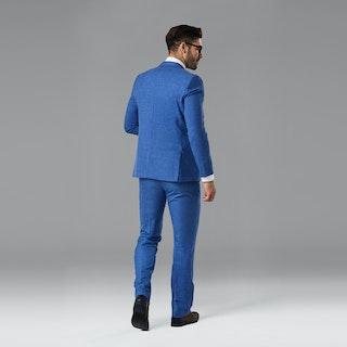 Indigo Blue Notch Lapel Suit