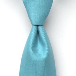 Blue Ice Solid Pre-Tied Tie