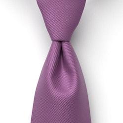 Purple Solid Pre-Tied Tie