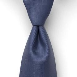 Navy Marine Solid Pre-Tied Tie